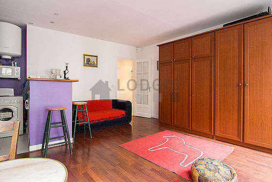 Salon lumineux équipé de ventilateur, 2 chaise(s)