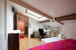 dúplex París 14° - Dormitorio