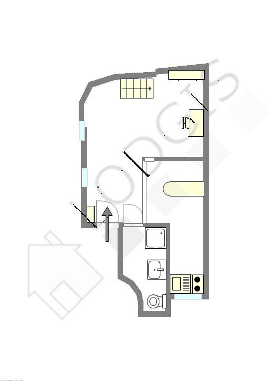 Квартира Париж 8° - Интерактивный план