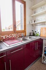 Maison de ville Paris 19° - Cuisine