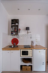 Appartement Paris 2° - Cuisine