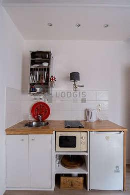 Appartement Paris 2° - Cuisine