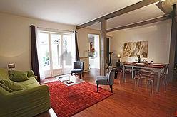 House Paris 12° - Living room