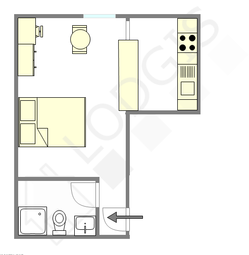 Appartement Val de marne est - Plan interactif