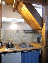 雙層公寓 巴黎17区 - 廚房