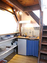 Duplex Paris 17° - Kitchen