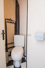 Appartement Paris 20° - WC