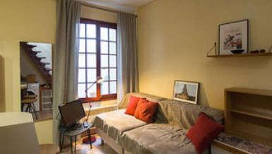 Le Marais パリ 3区 1ベッドルーム デュプレックス