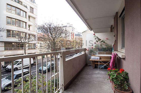 Bright balcony
