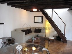 雙層公寓 巴黎1区 - 客廳