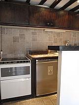 雙層公寓 巴黎1区 - 廚房