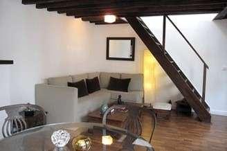 Châtelet – Les Halles 巴黎1区 1個房間 雙層公寓