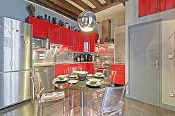 Duplex Paris 3° - Küche