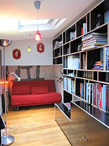 Duplex Paris 3° - Library