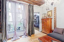 Duplex Paris 3° - Wohnzimmer