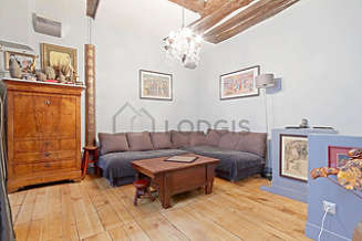Le Marais 巴黎3区 2個房間 雙層公寓