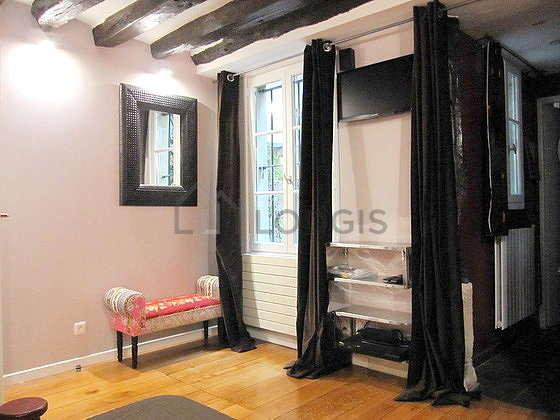 Chambre très calme pour 2 personnes équipée de 1 lit(s) de 160cm