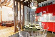Duplex Paris 3° - Cuisine
