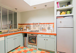 dúplex París 11° - Cocina