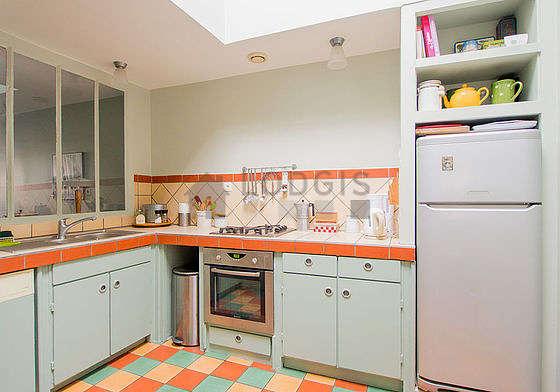Duplex Paris 11° - Cuisine