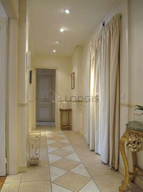 Very beautiful entrance with its tile floor