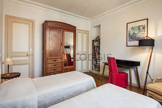 Chambre calme pour 2 personnes équipée de 2 lit(s) de 90cm