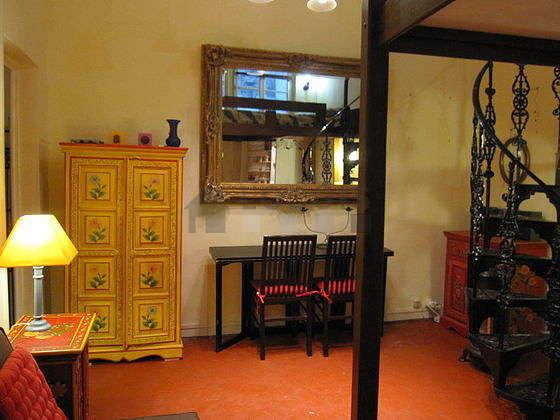 Salon équipé de 2 chaise(s)