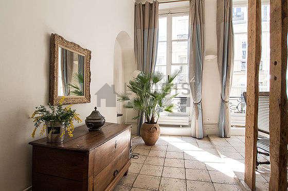 Beau séjour très lumineux d'un duplex à Paris