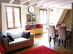Apartment Paris 17° - Living room