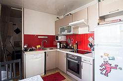 公寓 巴黎15区 - 廚房