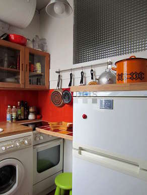 Bright kitchen with double-glazed windows