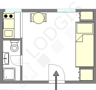 Apartamento Paris 3° - Plano interativo