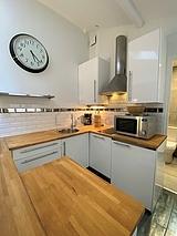 雙層公寓 巴黎15区 - 廚房