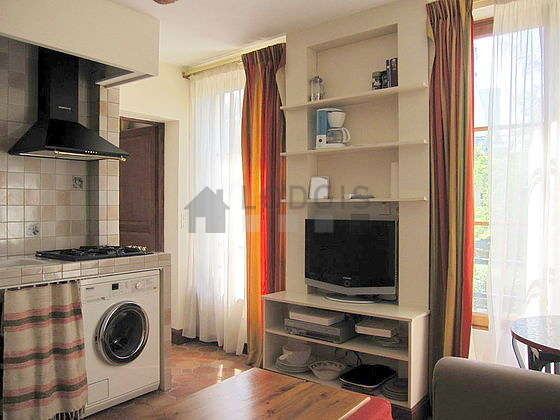 Location appartement 1 chambre paris 20 villa de l for Appartement meuble paris long sejour