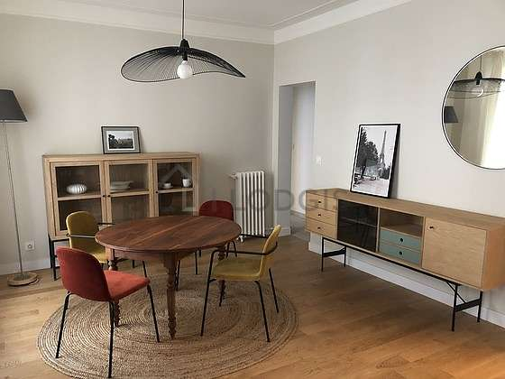 Living room furnished with 1 sofabed(s) of 140cm, tv, hi-fi stereo, cupboard
