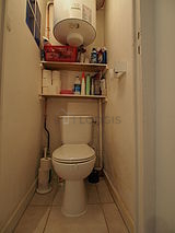 Appartamento Parigi 18° - WC