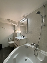 雙層公寓 巴黎7区 - 浴室
