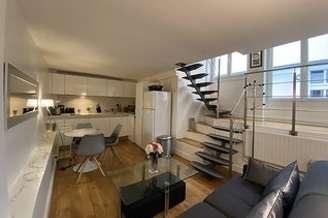 Invalides Париж 7° 1 спальня Дуплекс