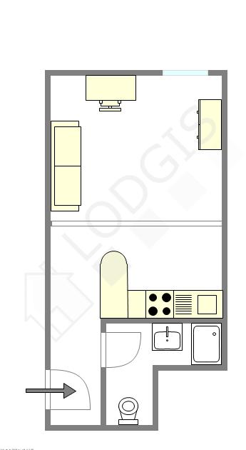 Appartamento Parigi 4° - Piantina interattiva