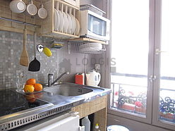 Appartement Paris 10° - Cuisine