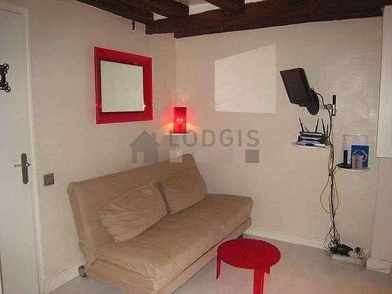 Séjour très calme équipé de 1 canapé(s) lit(s) de 160cm, téléviseur, armoire