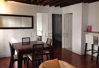 Gare du Nord – Gare de l'Est Paris 10° 2 Schlafzimmer Wohnung