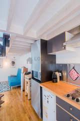 dúplex París 13° - Cocina