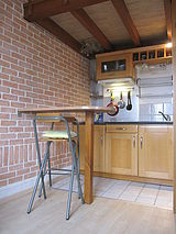 Дуплекс Париж 4° - Кухня