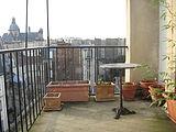 Dúplex Paris 4° - Terraça