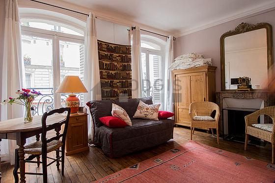 Location studio avec chemin e paris 5 rue du sommerard meubl 21 m quartier latin panth on - Recherche studio meuble paris ...