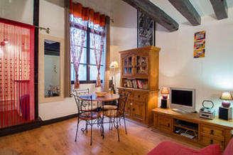 Paris 4° 1 quarto Apartamento