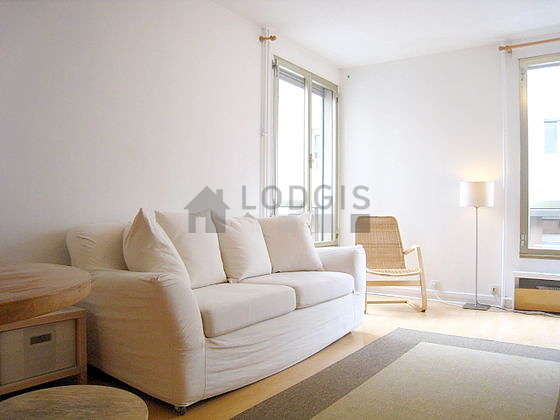 Quiet living room furnished with 1 sofabed(s) of 140cm, tv, 1 armchair(s), 2 chair(s)