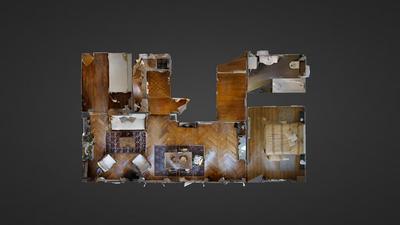 Квартира Париж 17° - Интерактивный план