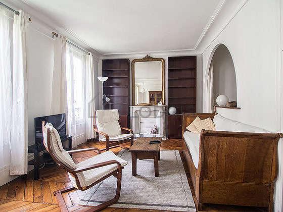Séjour très calme équipé de chaine hifi, 1 fauteuil(s), 1 chaise(s)